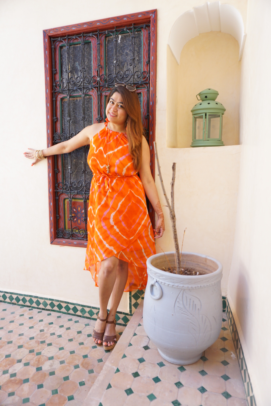 Riad , marrakesh, holidaywear, travelblog