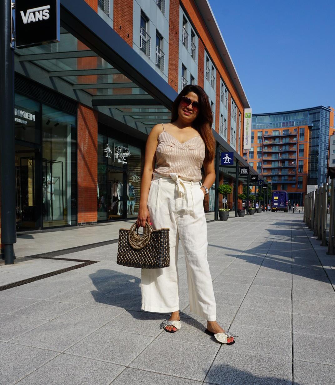 summer wear , palazzo